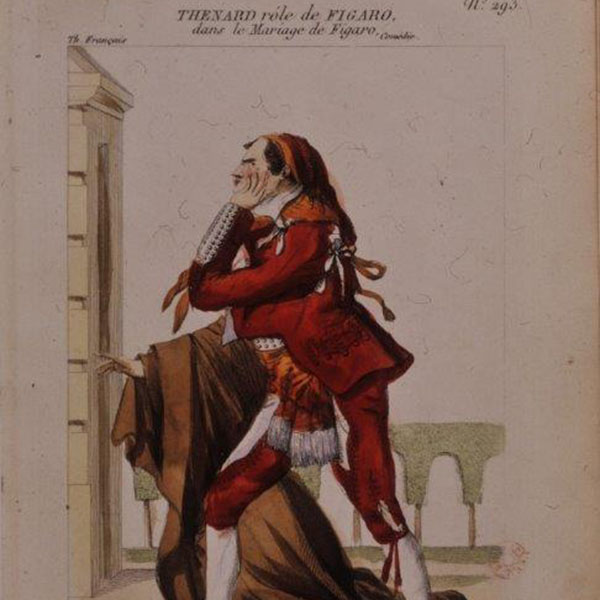 Costume design for Figaro (1807 production) by Joly