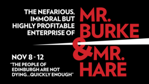 Burke & Hare | NOV 8 -12, 2017 | Boston Lyric Opera