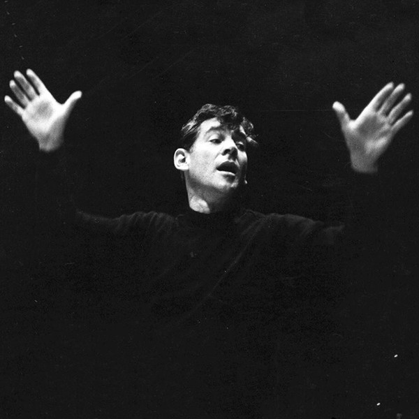 Leonard Bernstein, 1956, Library of Congress collection