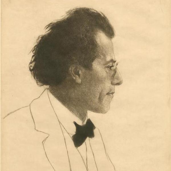 Emil Orlik's Gustave Mahler, New York Public Library