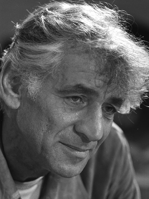 Leonard Bernstein in 1971, United States Library of Congress