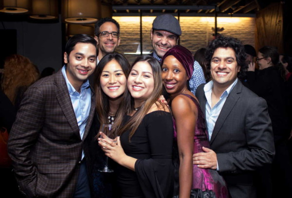 BLO PRIMA members smile for the camera and dance the night away at the Tosca Opening Night party. photo by Todd McNeel