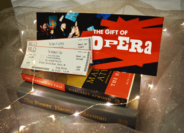 Holiday Gift Package: Book Bundle Starting at $125 the Book Bundle makes an ideal holiday gift for opera lovers and newcomers alike.
