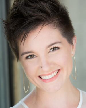 Maggie Finnegan as Danica in BLO's 2021 production of Svadba